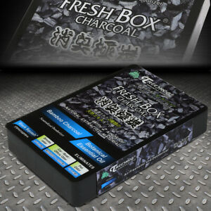 Tree Frog Xtreme Fresh Box Charcoal Black Squash Scent Car Office Air Freshener