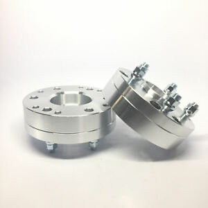 2pc 2 Wheel Adapters 6x5 5 To 5x5 6x139 7 To 5x127 Hubcentric 50mm Thick