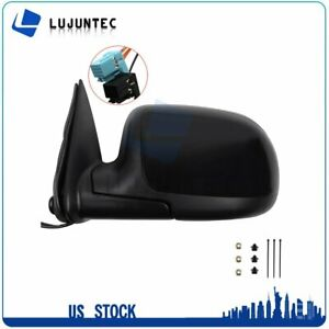 For 2003 07 Gmc Chevy Left Driver Door Side View Mirror Power Heated Turn Signal