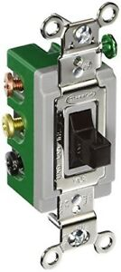 Hubbell Hbl1388 Toggle Double Pole Double Throw Center Off 30 Amp 120 277v