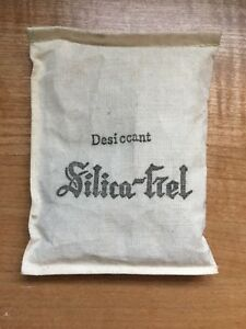 Extremely Rare Old Desiccant Silica Gel