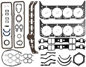 1955 1980 Small Block Chevy V8 Mahle Victor 95 3033 Engine Full Gasket Set
