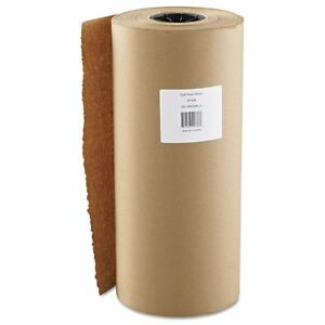 18 X 900 Brown Kraft Paper Roll Packaging Wrapping Cushioning Shipping Fill New