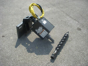Toro Dingo Mini Skid Steer Attachment Lowe 750 Auger Drive 4 Bit Ship 199