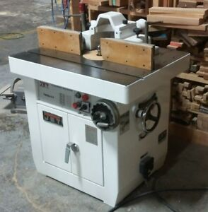 Jet Twss 3 3 Woodworking Shaper 1 1 4 Tilting Spindle 5 Speed 5 Hp 3 Ph