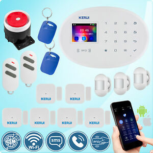 Kerui W20 Gsm Wifi Sms Rfid Home Security Alarm System Mini Motion Pir Detector