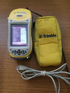 Trimble Geoxh 2005 W Terrasync Installed Charging Cradle power Cord