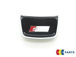 New Genuine Audi Steering Wheel S Line Badge Emblem
