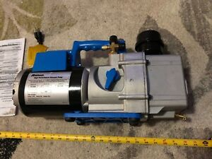 Robinair 15120a Vacuum Pump Two Stage Direct Drive 10 Cfm 115 60 Hz flaws