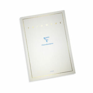 Clairefontaine Triomphe Writing Pad 6124 90g A5 5 85x8 25 Lined 50s