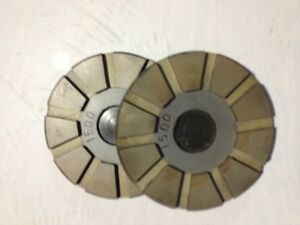 3 4 1500 Grit Metal Toolip Lippage Concrete Grinding Floor Disc