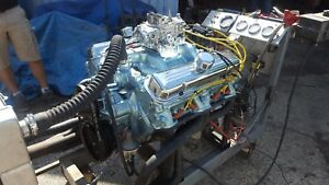 Fresh Rebuilt 350 Pontiac Engine 1970
