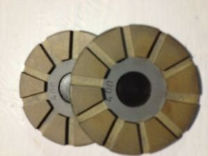 3 4 800 Grit Metal Toolip Lippage Concrete Grinding Floor Disc