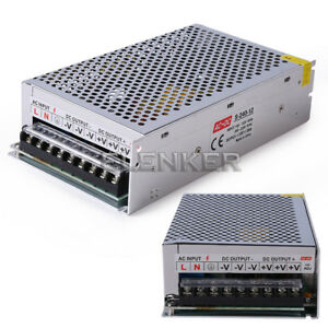 10x12v 20a 240w Regulated Switching Power Supply Transformer For Led Strip Light