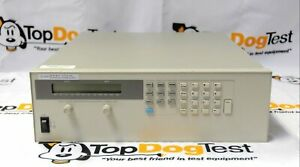 Hp Agilent Keysight 6674a Dc Power Supply Opt J07 50v 42a 2000 Watts