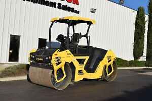 2015 Bomag Bw141ad 5 Tandem Vibratory Compaction Roller 412 Hours