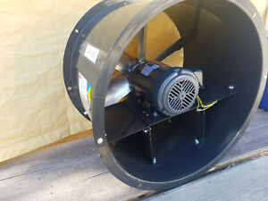 New Dayton 24 Tubeaxial Fan 200 To 230 460vac 4tm85