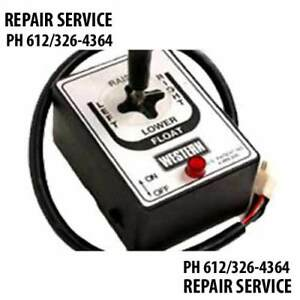 Repair Service For Joystick Board For Fisher Western Plow Controller