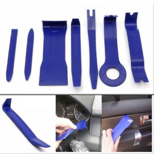 7 Pcs Car Auto Body Moulding Door Tery Trim Clip Remover Panel Removal Tools