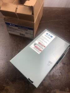 Eaton Dg221urb Safety Switch 30a 2 Pole 240v Non fusible Nema 3r Cutler Hammer