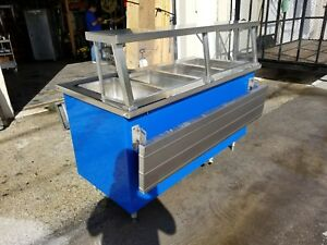 Electric Steam Table Food Warmer 4 Pans