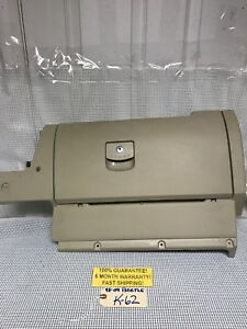 2008 Vw Beetle 98 09 Glove Box Compartment Assembly Complete Tan Warranty K59