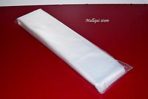 2 000 Clear 6 X 40 Poly Bags Plastic Lay Flat Open Top Packing Uline Best 2 Mil