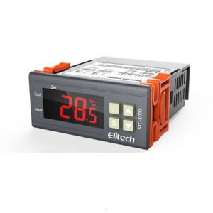 Cool Heat Auto Switch Digital Temperature Controller Thermostat Stc 1000 New