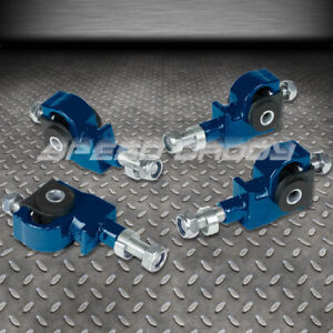 Adjustable Front Camber Adjuster Kit 90 97 Honda Accord civic 92 96 Prelude Blue