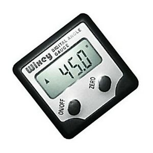Wixey Wr300 Digital Angle Gauge Test Measure Inspect