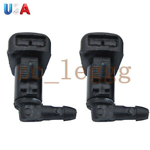 2x Windshield Washer Sprayer Nozzle For2008 2012 Ford Fusion 8e5z17603a