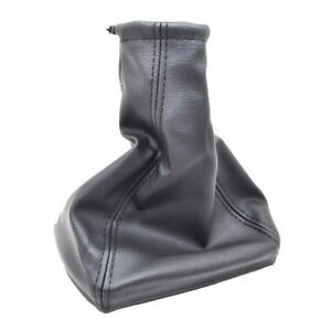 For Opel Astra G Gear Shift Knob Boot Black Leather Gearstick Gaiter Frame D40o