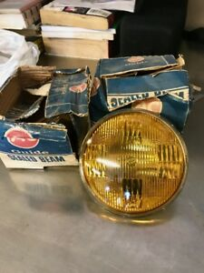 Guide Amber Fog Lights 1950s Hot Rod Rat Rod Vintage 2