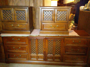 Drexel Esperanto Mid Century Modern Bedroom Furniture 1800 O B R O