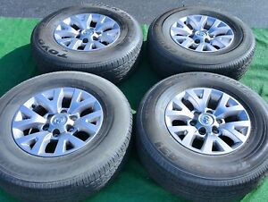 Set 4 Genuine Original Oem Factory Toyota Tacoma 6 Lug 16 Wheels Tires 4runner