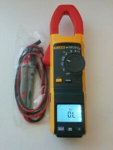 Fluke 381 Remote Display True Rms Ac Dc Clamp Meter Multimeter New Test Leads