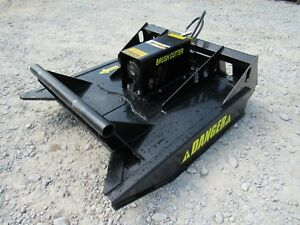 Asv Rc30 Mini Skid Steer Attachment 48 Brush Cutter Bush Hog Free Shipping