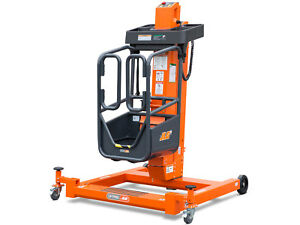 Jlg Ft140 Liftpod Personal Portable Man Lift Battery Powered Tight Space 13 6
