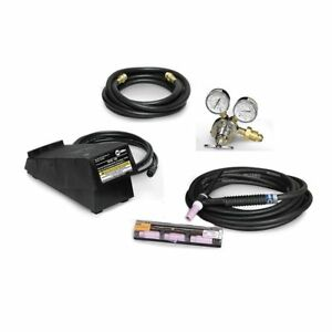 Miller Welding Multimatic 200 Tig Torch Contractor Kit With Foot Control 301287
