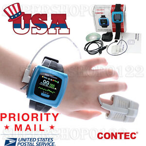 Us Seller Wrist Pulse Oximeter Spo2 Monitor Daily And Overnight Sleep Wearable
