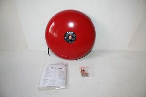 System Sensor Ssv120 10 10 Inch Fire Alarm Bell Red New