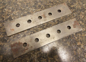 Machinist Tools Pair Of 2 Parallels 6 X 1 1 4 X 3 16 Nice