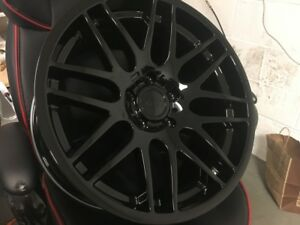 19 Gloss M3 Csl Style Wheels Rims Fits Bmw 3 Series Staggered M 359m 328i 335i