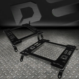 For 12 15 Honda Civic Pair Racing Seat seats Base Mounting Brackets Rail track