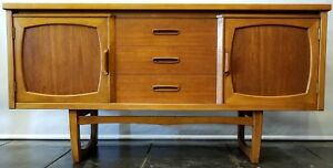 Mid Century Danish Modern Credenza From The Stateroom Range By Stonehill London