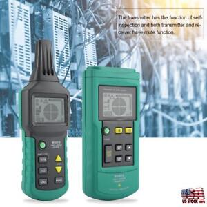 Underground Cable Tracker Pipe Locator Detector Network Wire Tester Tool Ms6818