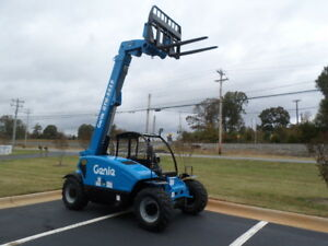 New 2018 Genie Gth 5519 Compact Telescopic Forklift Telehandler Shooting Boom