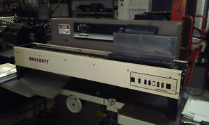 Brackett Padmaster Padding Machine