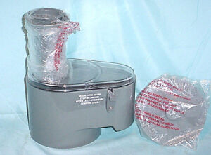 Waring Commercial Fp257 Food Processor Fp25 Continuous Feed Work Bowl Lid Chute