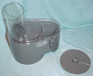 Waring Commercial Fp25 Food Processor Fp257 Continuous Feed Work Bowl Lid Chute